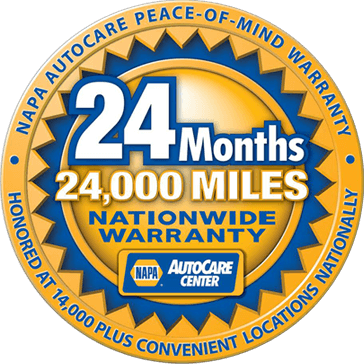 24 Monts / 24,000 Mile Warranty